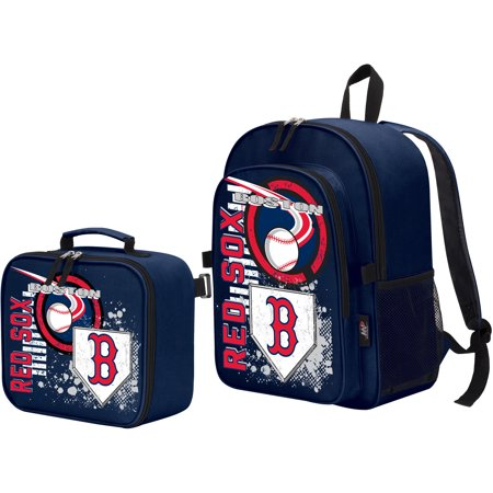 Boston Red Sox Lunch Box (The Northwest Company Boston Red Sox Accelerator Backpack & Lunchbox - No Size )