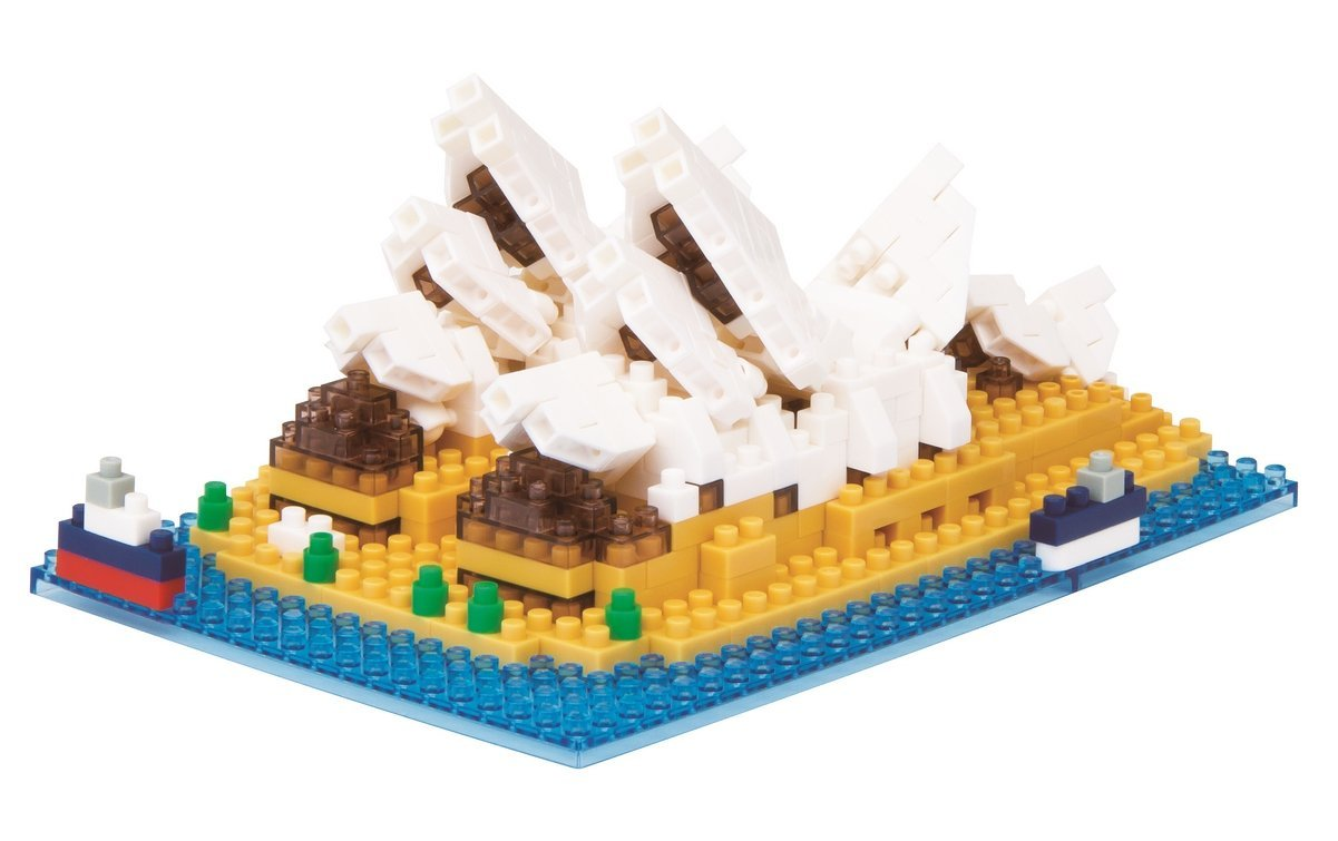 Sydney Opera House Building Kit, Cute and cuddly with his long tail and pouch, he's ready... by