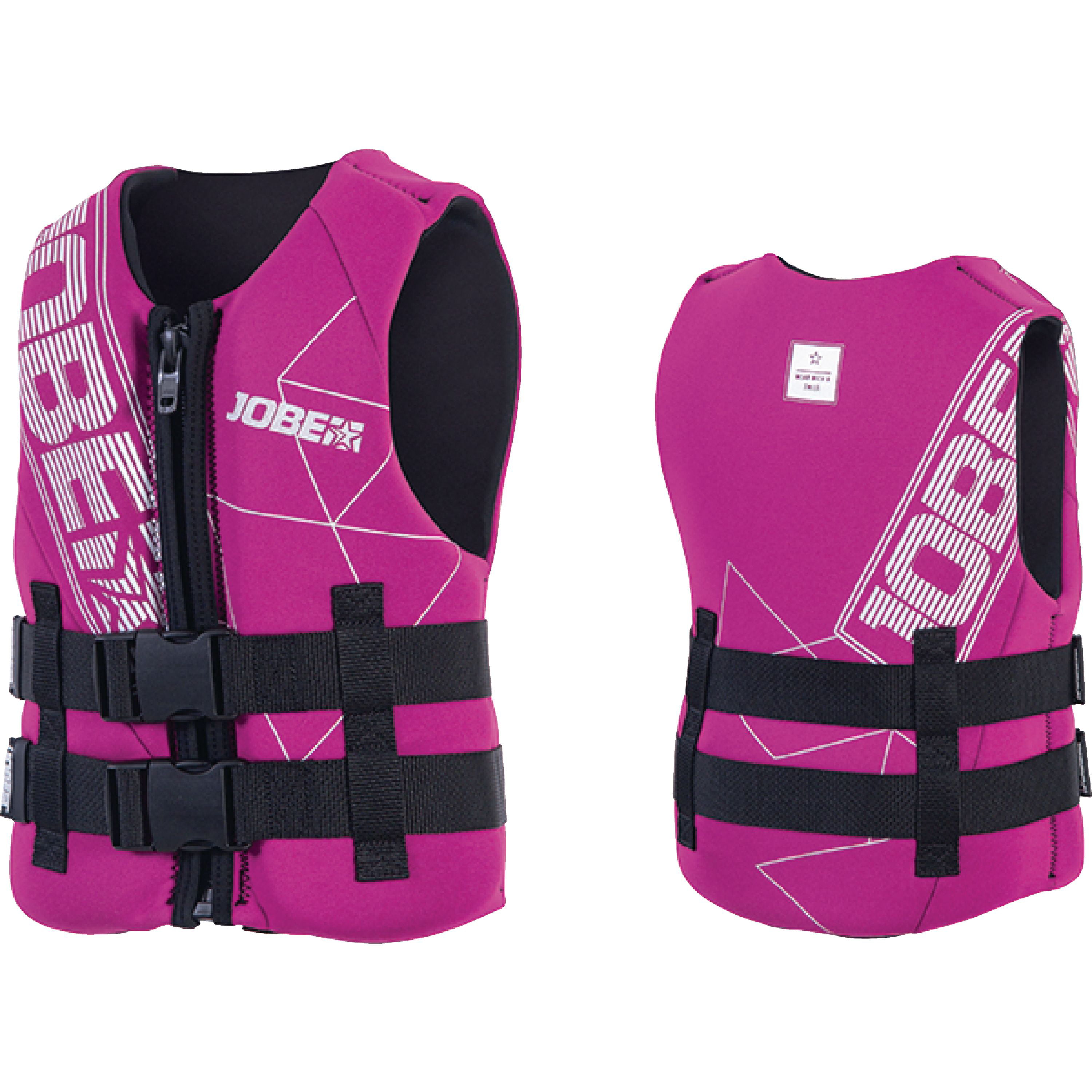 Jobe 247718009 Pink 50 to 90 lbs. Youth Neoprene Life Vest by Jobe Sports International