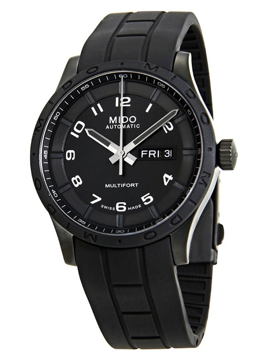 Multifort Automatic Black Dial Mens Watch M018.430.37.052.80