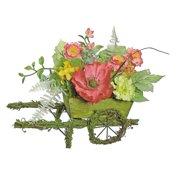 Northlight Seasonal Decorative Poppy and Wildflower Artificial Centerpiece in Planter