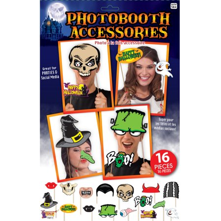 New Assorted Classic Halloween Monster Photo Booth Props Costume Accessory - Halloween Photo Project