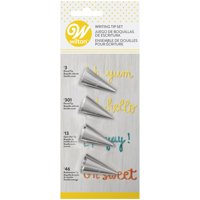 Wilton Writing Tip Set, 4.0 CT
