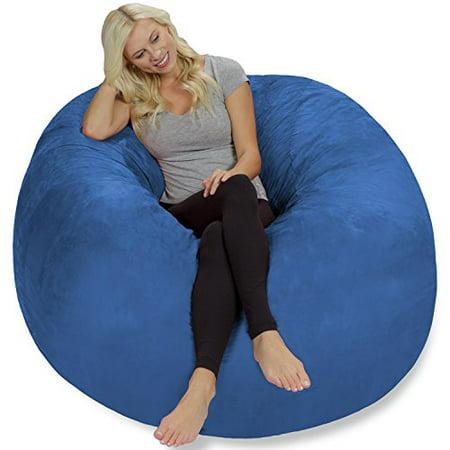 Chill Bag - Bean Bags Bean Bag Chair, 5-Feet, Royal Blue