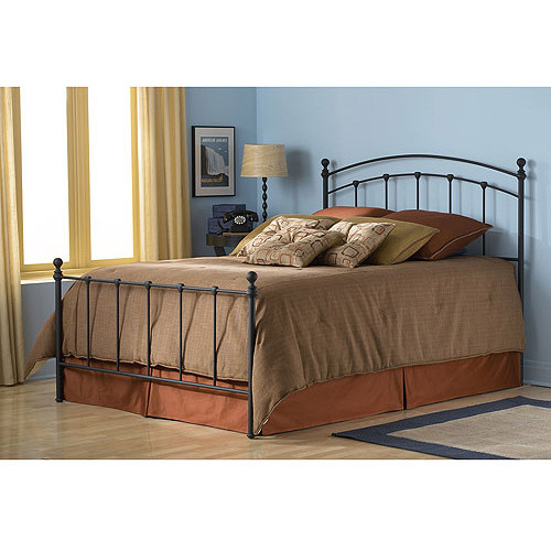 Sanford Queen Bed, Matte Black