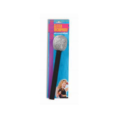 MICROPHONE-SILVER W/BLACK HANDLE - Android Halloween