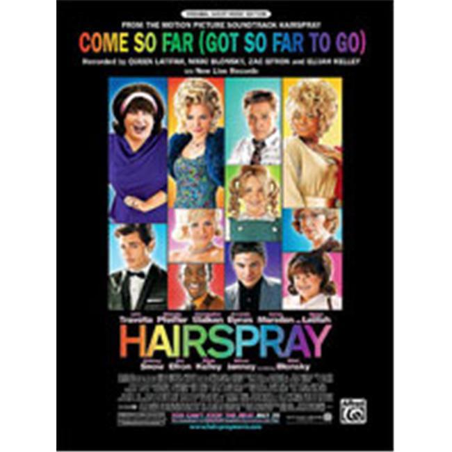 Alfred 00-28446 Come So Far- Got So Far to Go- from Hairspray - Music Book