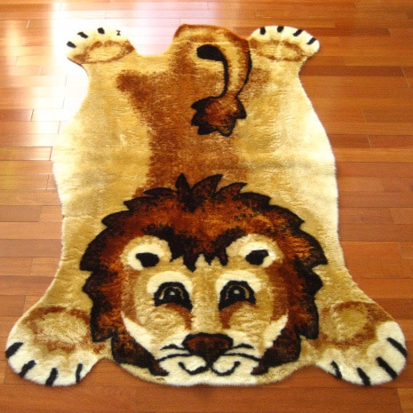 Walk on Me Rugs Lion Playmat Rug - 2'3 x 3'7