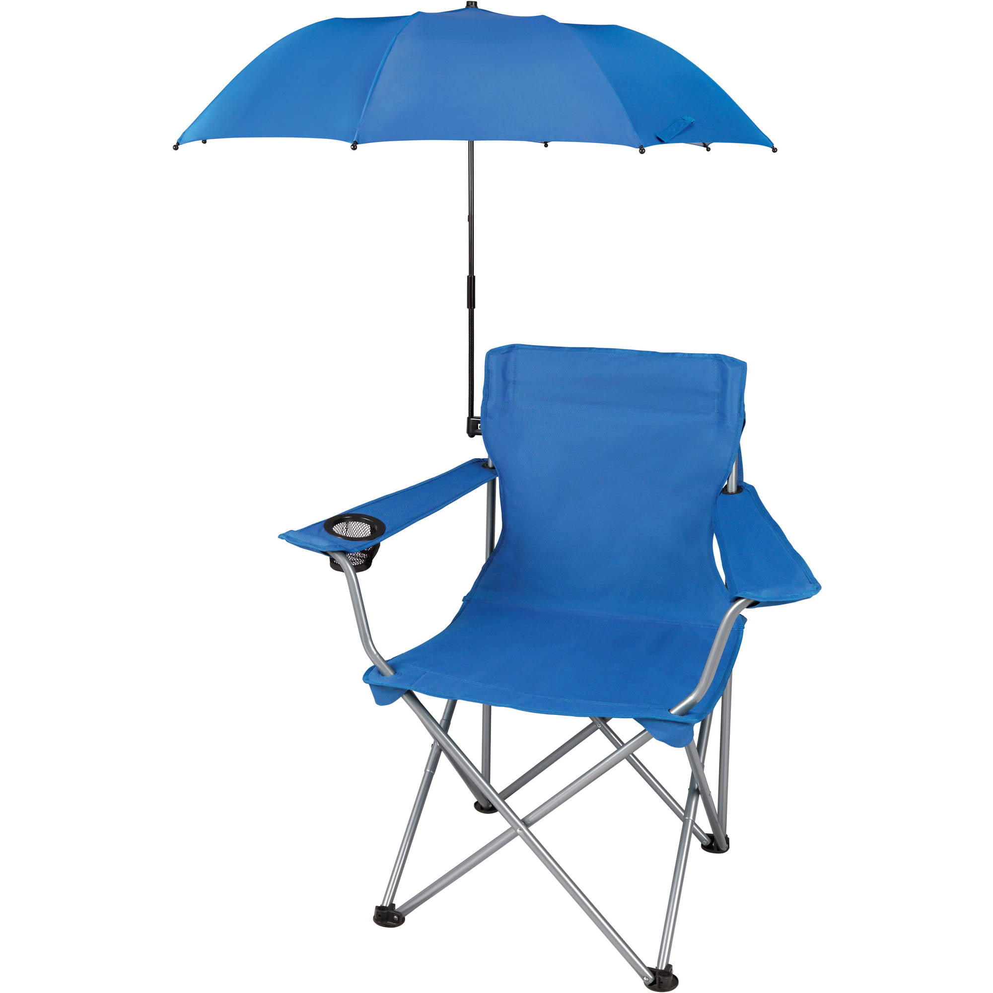 Camping chairs with umbrella - Ozark Trail Outdoor Chair Umbrella Attachment Chair Sold Separately Walmart Com