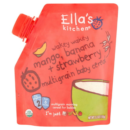 Ella S Kitchen Wakey Wakey Baby Cereal
