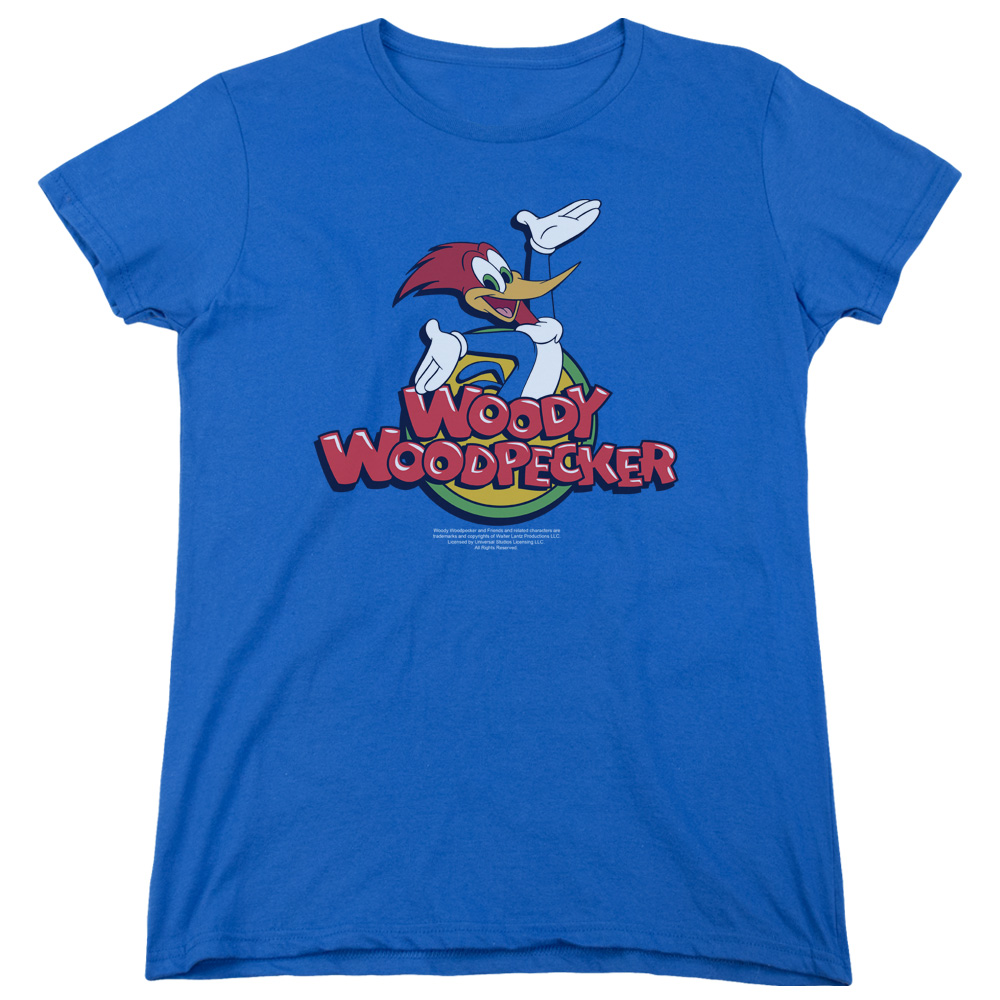 Woody Woodpecker Woody Womens Short Sleeve Shirt