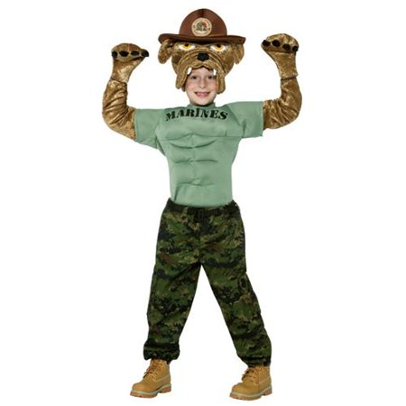 Chesty The Marine Bulldog Child - Marine Corps Costume