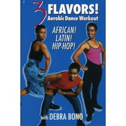 3 Flavors: Aerobic Dance Workout African, Latin by BAYVIEW ENTERTAINMENT
