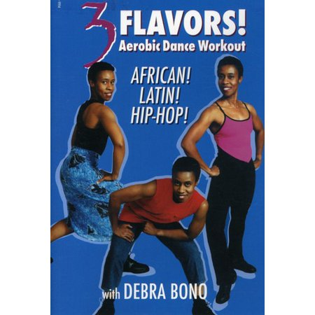 3 Flavors: Aerobic Dance Workout African, Latin (DVD)