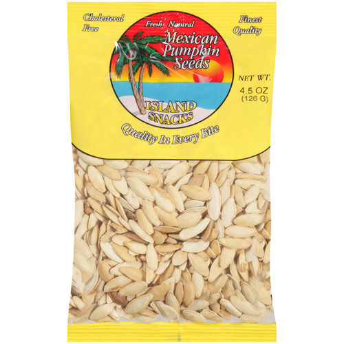 Island Snacks Mexican Pumpkin Seeds, 5 oz