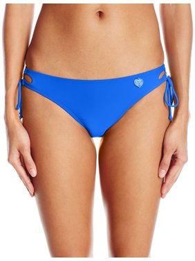 Body Glove NEW Blue Womens Size Medium M Cutout Bikini Bottom Swimwear