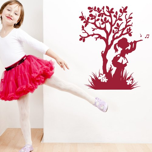 Style and Apply Happy Girl Wall Decal