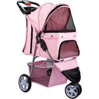 Paws & Pals Dog & Cat Folding Stroller