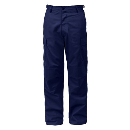 Navy Blue  BDU Pants, Military Fatigues, Large, Short Military Fatigues Bdus Black Pants