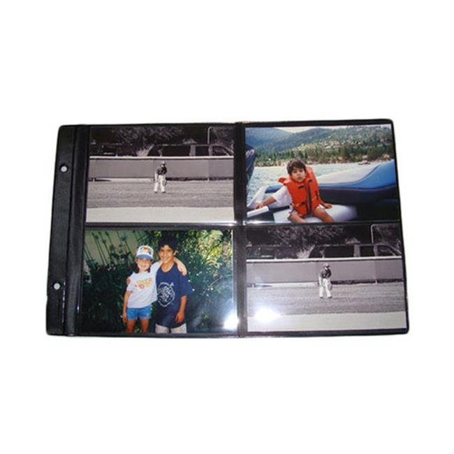 Raika 101-R 4 x 6 in. Black Foldout Sheet