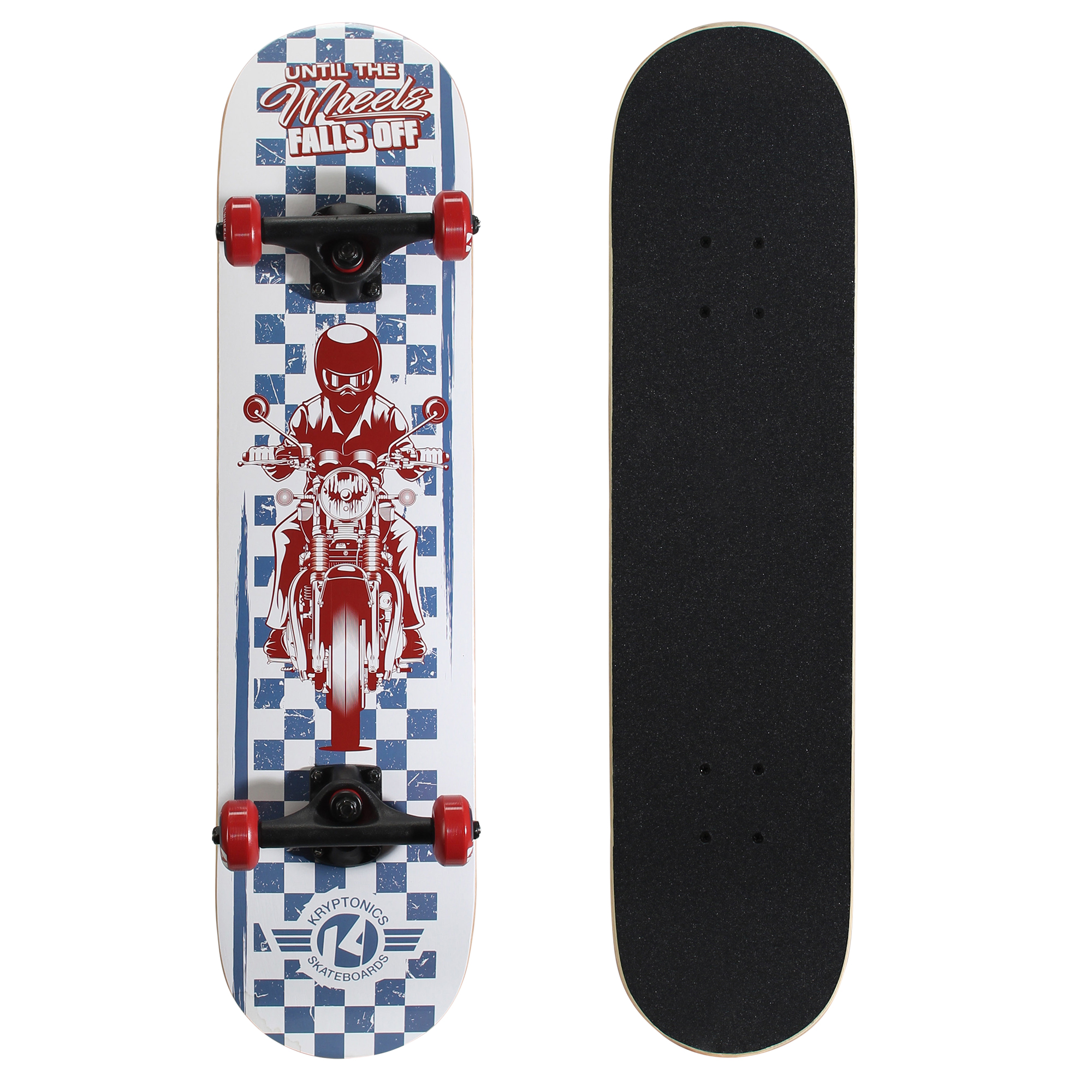 "Kryptonics Recruit Complete Skateboard (31"" x 7.5"") by Bravo Sports"