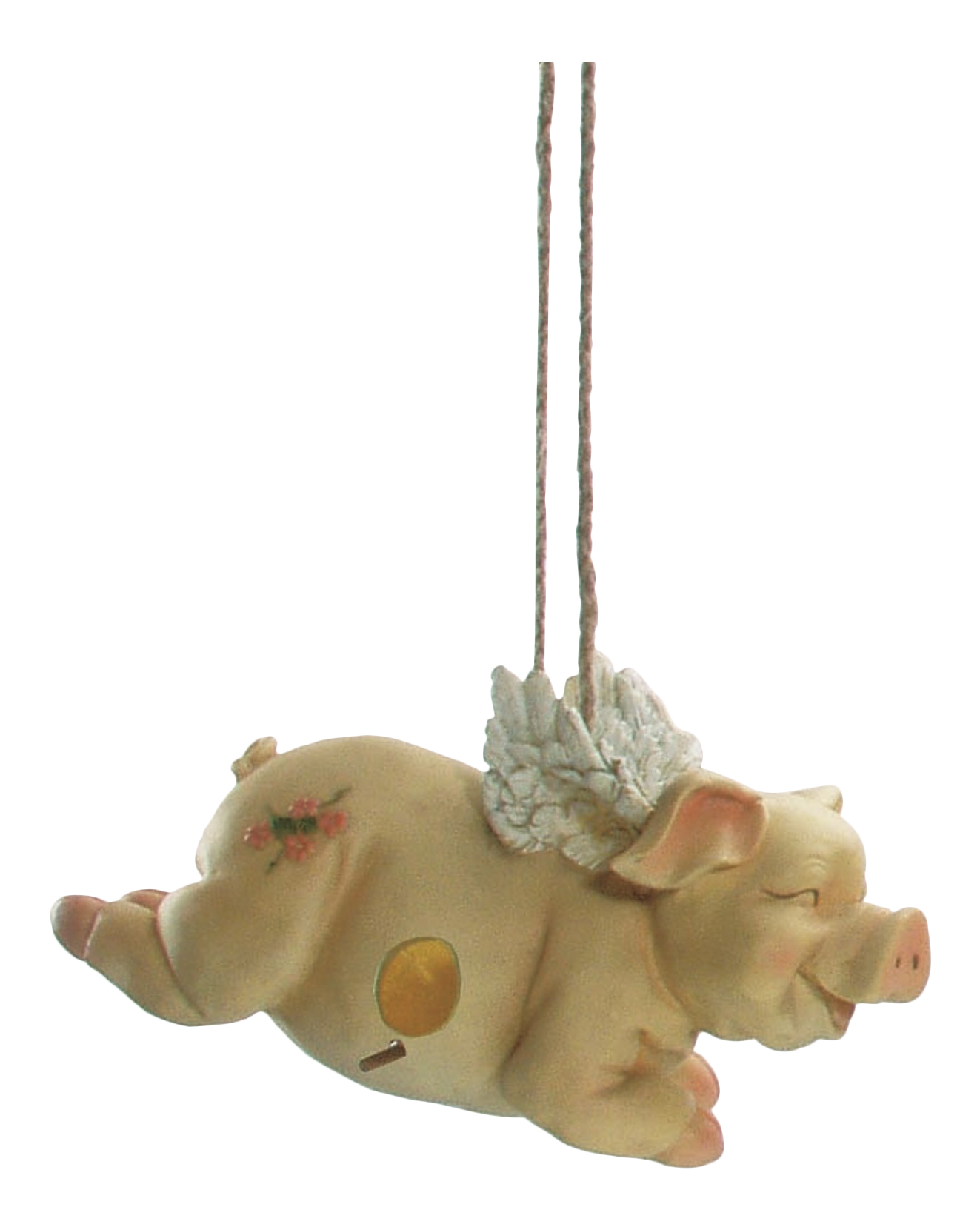Flying Pig Birdhouse by Spoontiques 10341 by Spoontiques