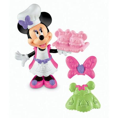 Disney Minnie Mouse Basic Cupcake Bow-Tique Play Set (Disney Cupcakes)