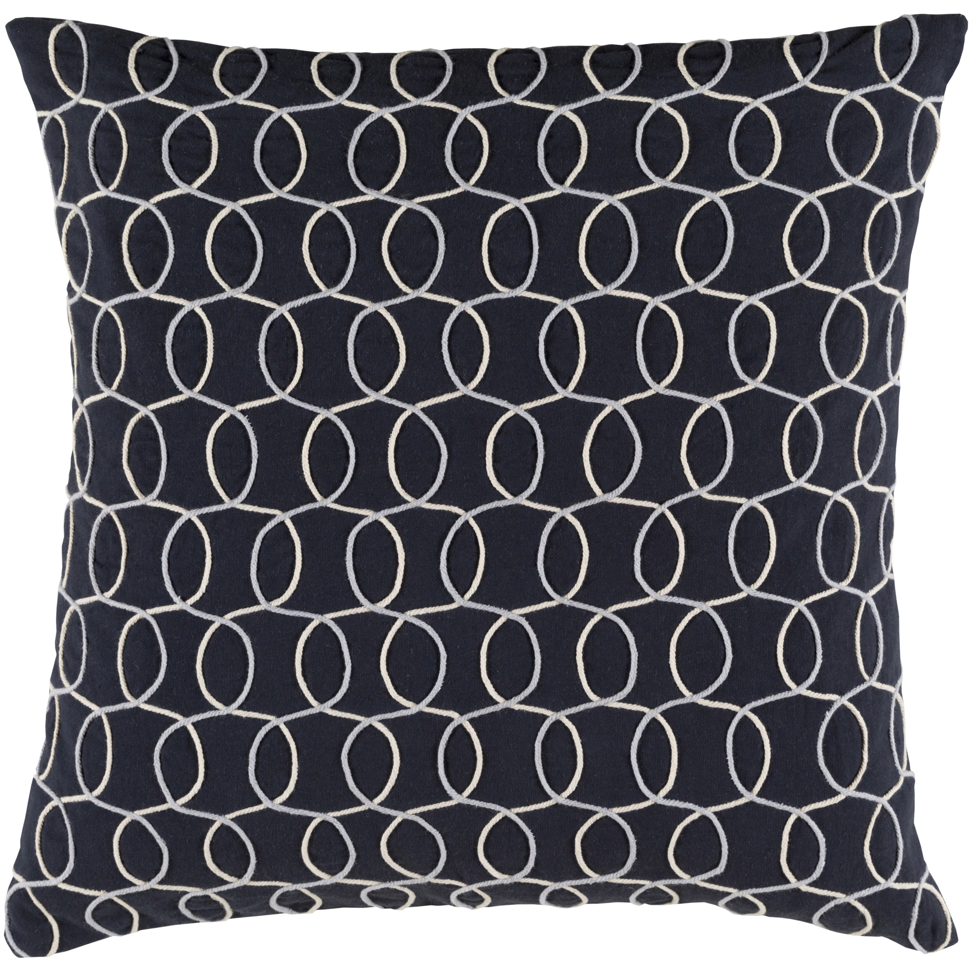 "Art of Knot Lackington 13"" x 19"" Pillow Cover"
