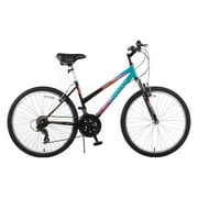 "26"" Trail 21-Speed Suspension Women's Mountain Bike, Black"