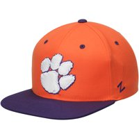 Clemson Tigers Zephyr Z11 Snapback Adjustable Hat - Orange - OSFA