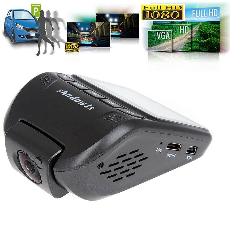 "Shadow 1s Ambarella A7 HD 1080p 2.4"" LCD Car Dash Camera ..."