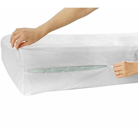 Waterproof Zipper Encasement Protector For Mattress And Box Spring (Twin) ()