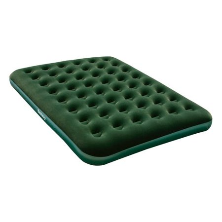 Bestway Queen Flocked Air Bed with D Cell Pump, 80