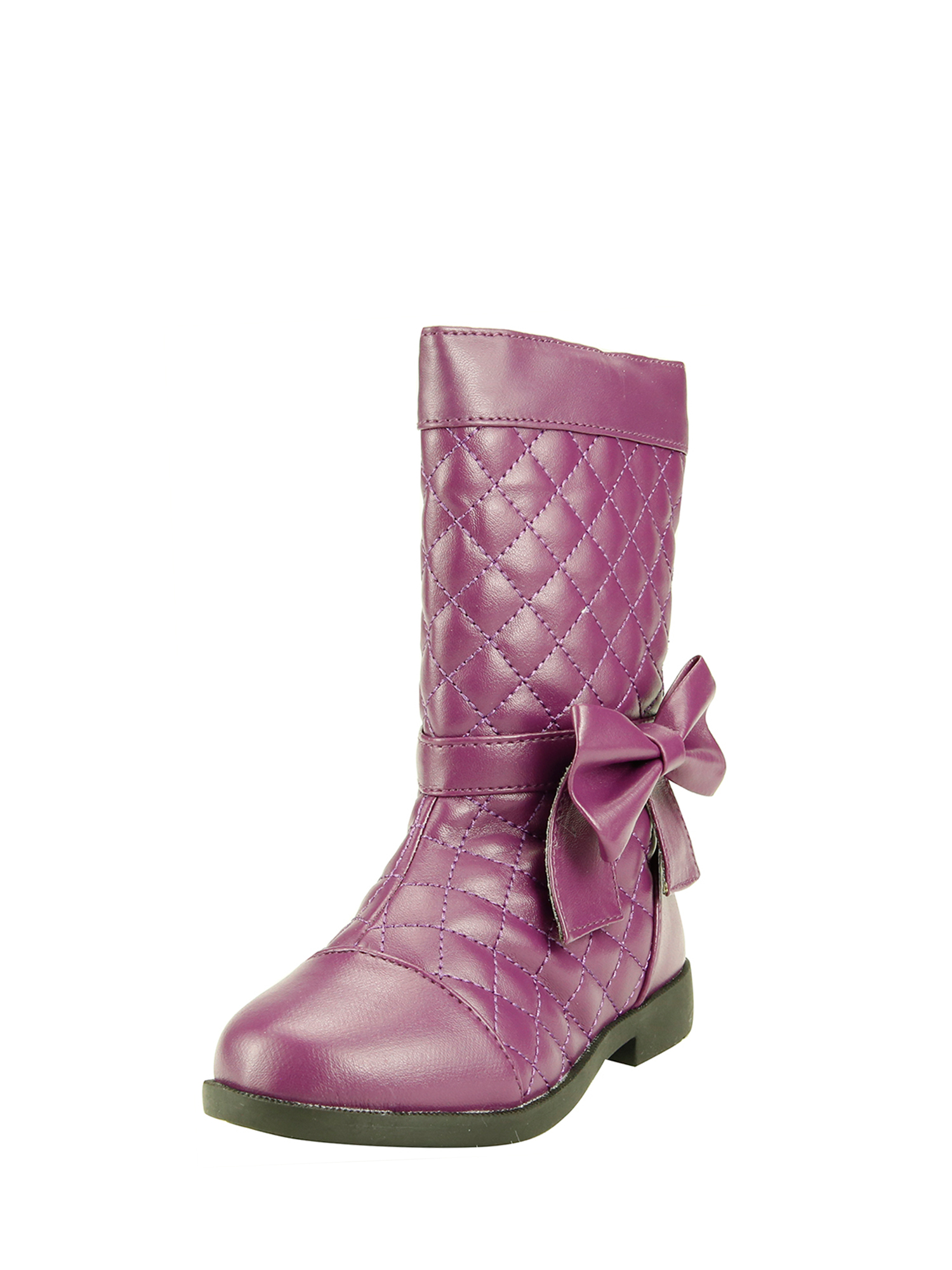 The Doll Maker TALL QUILTED BOOT-TD173017D-1