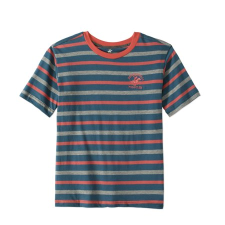 Jersey Striped Crew Neck Tee (Little Boys & Big Boys)