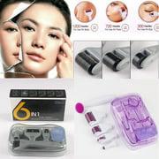 Best Derma Roller Kits - 6 in 1 Derma Titanium Micro Needle Roller Review