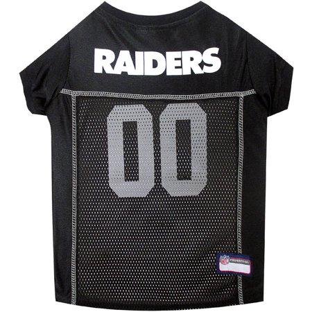 Pets First NFL Oakland Raiders Pet Jersey