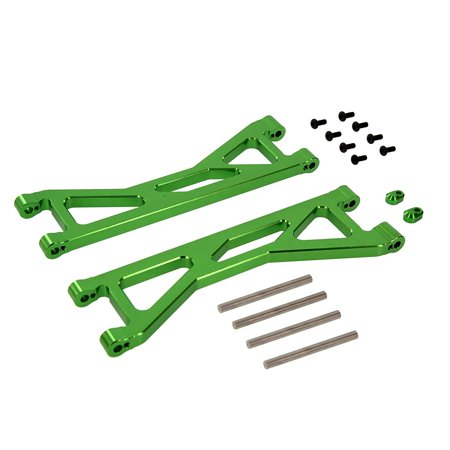 Atomik RC Alloy Front/Rear Upper Arm Green fits X-Maxx Replaces Traxxas Part 7729 RC Car and Truck (Traxxas Parts Green)
