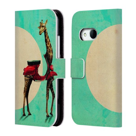OFFICIAL ALI GULEC WITH ATTITUDE LEATHER BOOK WALLET CASE COVER FOR HTC PHONES 1