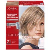 L'Oreal Paris Couleur Experte Hair Color + Hair Highlights, Medium Blonde - Toasted Coconut, 1 kit