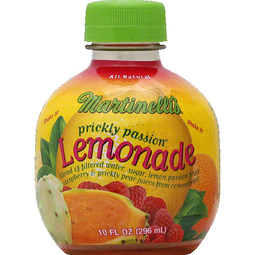 Martinelli's Prickly Passion Lemonade, 10 fl oz, (Pack of 9)