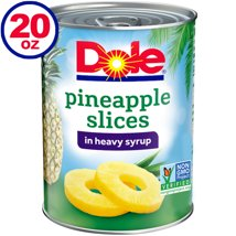 Canned Fruit: Dole in Heavy Syrup