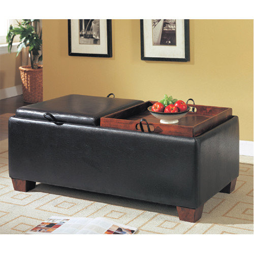 Wildon Home  Bycast Leather-Like Bench