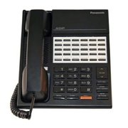 Refurbished Panasonic BTS KX-T7220B Digital Hybrid Telephone - Black