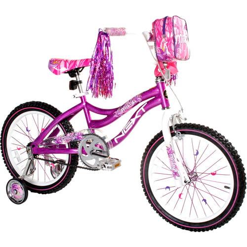 """NEXT 18"""" Girl's Misty Bike with Training Wheels"""