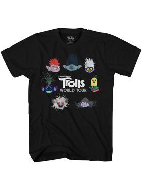 Trolls Boys 4-18 Circle Group Graphic T-Shirt
