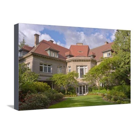 Pittock Mansion a historical landmark in Portland, Multnomah County, Oregon, USA Stretched Canvas Print Wall Art](Halloween Stores In Portland)
