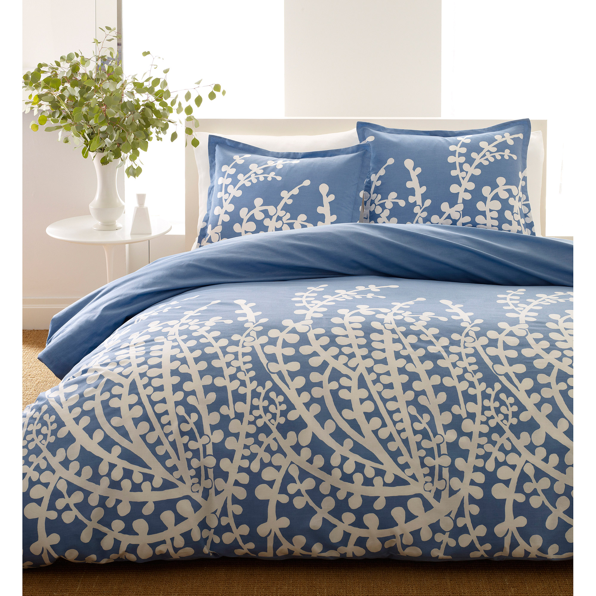 City Scene Branches Mini Bedding Comforter Set