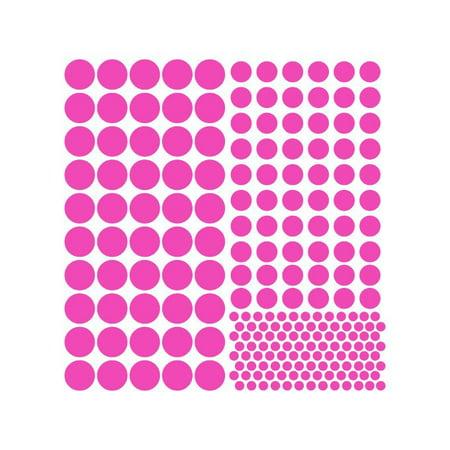 Dots Vinyl Graphic Sheet Large Dark Blue