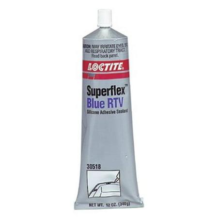 LOCTITE 234896 RTV Silicone Sealant12 oz TubeBlue Superflex